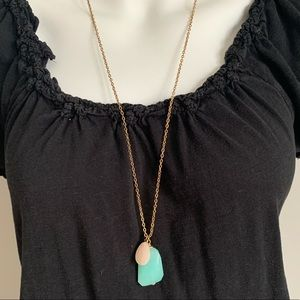 Jewelry - Long Gem Necklace